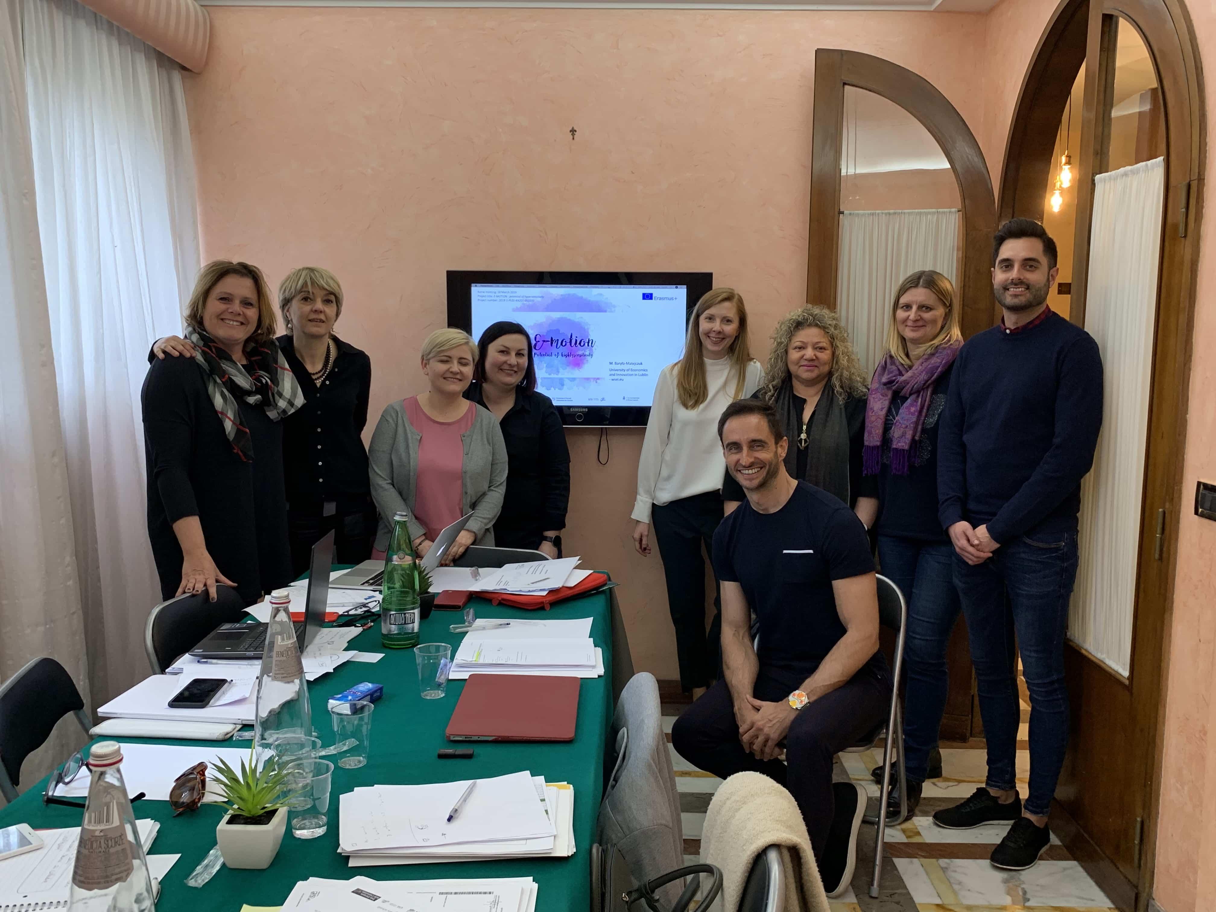 Reunión extra en Roma